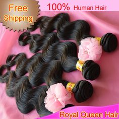 Queen Hair products virgin malaysian hair extensions, Body wave, mixed 3pcs 12inch-28inch + DHL Free Shipping $67.60 - 154.20