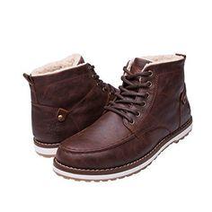 best cheap c27f0 da9c0 GLOBALWIN Mens Classic Winter Water Resistance Chukka Boot