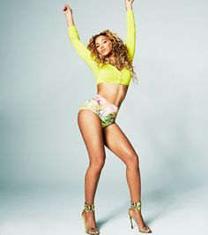 """""""Some people prefer the gym, but when I have to put on workout clothes and run on a treadmill, I get bored.""""  —Beyoncé on dance as her favorite workout"""
