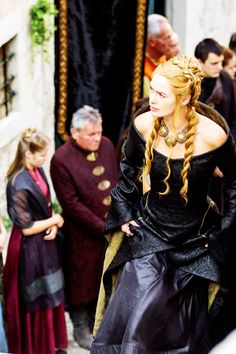 Cersei Lannister in Game of Thrones Season 5 ( x ) This dress is epic!!!