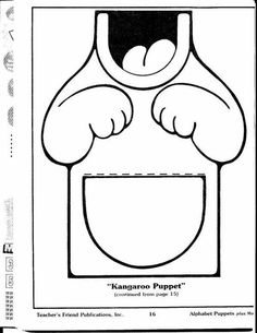 kangaroo puppet template 1000 images about zoo unit on pinterest zoo animals