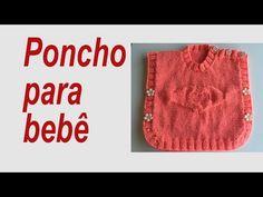 Casaco Top-down para Recém-Nascido {Tricota Curitiba} - YouTube