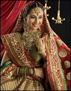 25 Colorful Indian Bridal Looks and Makeup Ideas - Fashion 2016