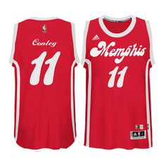 These red Memphis Grizzlies jerseys are just too legit!