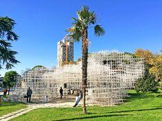 Tirana Serpentine Cloud Pavilion Fujimoto