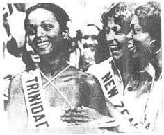 Contestants of the Miss Universe Pageant of 1977, in The Dominican Republic.