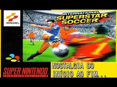 INTERNATIONAL SUPER STAR SOCCER - SUPER NINTENDO - BRASIL X ESPANHA