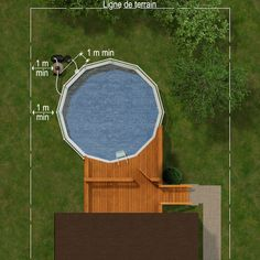 Image search results for 'patio plan with pool off terra … - Modern Small Backyard Patio, Backyard Patio Designs, Diy Patio, Pool Deck Plans, Patio Plans, Above Ground Pool Decks, In Ground Pools, Garden Design Plans, My Pool