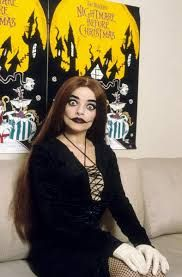 Nina Hagen dubbed the voice of Sally in the German release of Tim Burton's The Nightmare before Christmas.