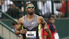 U.S. Runner Finishes Olympic Relay Leg on Broken Leg  Mitchell told The Associated Press he had about half a lap to go when he felt a popping in his left leg.