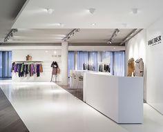 Hauber showroom, Blocher Blocher shops