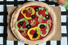 pizza.... home-made play food.... great gift idea