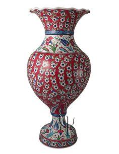 Iznik Design Ceramic Vase yurdan.com