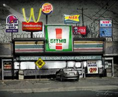 Let's go out to eat tonight.    Art by Anthony Freda