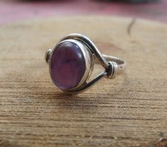 Hey, I found this really awesome Etsy listing at https://www.etsy.com/listing/263144275/925-sterling-silver-ring-amethyst-silver