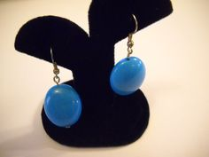 Vintage Retro Womens Earrings in bold bright Mod by vintagefinds61, $9.00