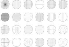 Conceptual diagrams. The project springs from the contrast between the round form, suggesting a sense of freedom without identifying a front...
