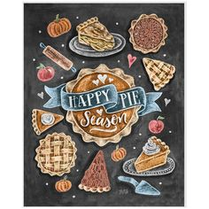 Thanksgiving Decor Happy Pie Season Fall Art Pumpkin Pie Pumpkin Pie... ($19) ❤ liked on Polyvore featuring home, home decor, wall art, dark olive, home & living, home décor, ornaments & accents, framed chalkboard, whimsical home decor and framed wall art