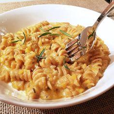 Creamy, savory butternut squash pasta #itswhatsfordinner #mycreativetwist #pasta #butternutsquash