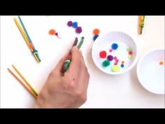 Craft Stick Tweezers to Help with Pencil Grasp | The OT Toolbox