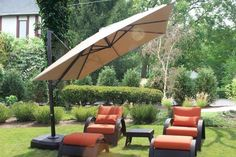 Wide coverage and easy maneuverability make for our Atlantic Cantilever as one of our top-selling and most wanted umbrellas. Perfect for your next large outdoor party to keep you sun protected and feeling cool.