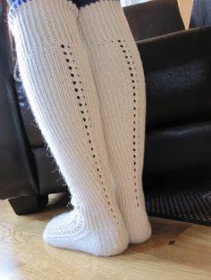 ... det har jeg lært av faren min. Og det har jeg stor tro på. Dattera ønsket seg strømper til å bruke i Ilse Jacobsen-gummistøvlene sine (s...