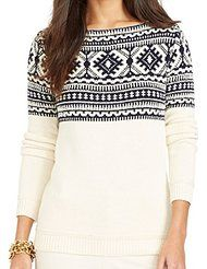 Amazon.com: Nordic print sweater: Clothing, Shoes & Jewelry
