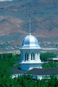 Capitol Dome in Carson City, Nevada.  Got married there once.  LOL
