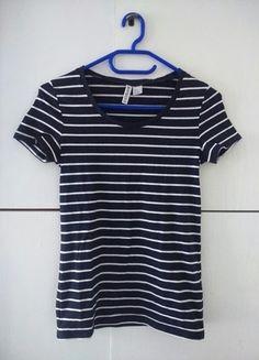 Kup mój przedmiot na #vintedpl http://www.vinted.pl/damska-odziez/bluzki-z-krotkimi-rekawami/10062249-t-shirt-w-paski-basic-hm