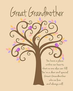 quotes for great grandma - Google Search