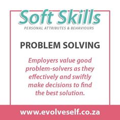In job descriptions, employers often ask for a combination of soft and hard skills. Hard skills are related to specific technical knowledge and training while soft skills are personality traits such as leadership, communication or time management. Both types of skills are necessary to perform and advance in most jobs successfully. Cv Writing Tips, Training Materials, Career Success, Job Posting, Computer Programming, Job Description, Creative Thinking, Get The Job, Critical Thinking