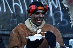 Вареники - це наше всьо.  Найкращі фото часів ЄвроМайдану | Українська правда