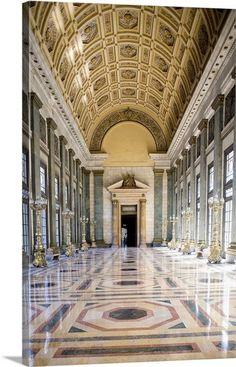Interior view of corridor