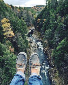 Good morning Vermont. Good morning fall. #thisisUGG #UGGseason @fenwayfashionista