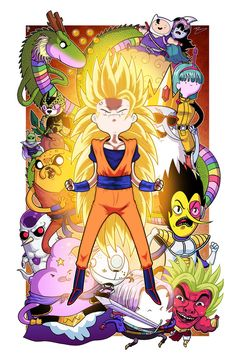 Dragonball Time Z - Collab w/ Mike Vasquez by JoeHoganArt on DeviantArt