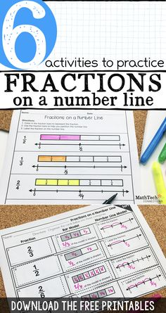 Practice fractions on a number line math games, fun math, math activities. 3rd Grade Fractions, Teaching Fractions, Fourth Grade Math, Math Fractions, Teaching Math, Equivalent Fractions, Kindergarten Math, Multiplication, Fractions For Kids