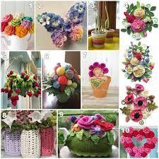 Resultado de imagen de pinterest ganchillo flores