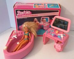 1982 Barbie Dream Furniture Collection Bath & Beauty Center Acces. &1987 Skipper #Mattel http://www.medusamaire.com/my-ebay-items/ to see all of my items for sale!