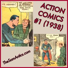 Action Comics #1 (1938). That's right, Superman. Blame the other guy.
