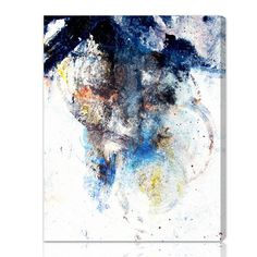 Hand-stretched canvas wall art over wood with an abstract snow storm design. Made in the USA. Product: Wall artConstruction Material: Wood and canvasFeatures: Ready to hangHand-stretched and gallery wrappedMade in the USA Canvas Wall Decor, Canvas Art Prints, Painting Prints, Thing 1, Contemporary Wall Art, Modern Wall, Leonid Afremov Paintings, New Wall, Wall Décor