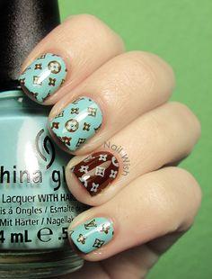 Nail Wish: Louis Vuitton Nails