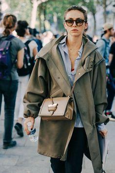 nice Street Looks at Paris Fashion Week Spring/Summer 2016                                                                                                                                                                                 More