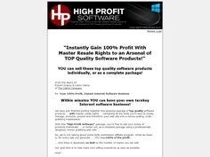 Try High Profit Software Now- http://www.vnulab.be/lab-review/high-profit-software