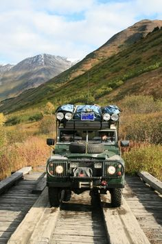 Land Rover Carawagons Alaska trip - Expedition Portal