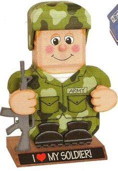Armypainted Paver Crafts Painted Patio Pavers Brick Stone
