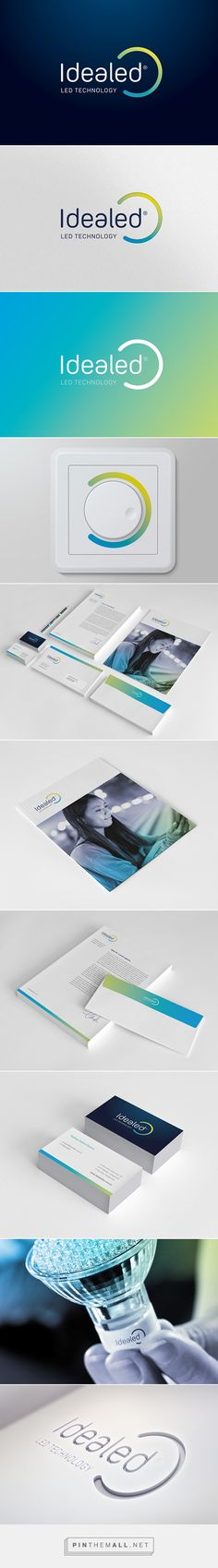 Visual Identity / Idealed on Behance... - a grouped images picture - Pin Them All