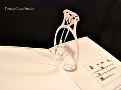 Pop-Up proposal Book - ring Design by Petrina Case Stuio