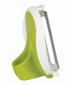 "Another great find on #zulily! Green & White Finger Peeler by Mimo Style #zulilyfinds.  I have one similar to this and I love it...works great even if I'm having a ""can't hold onto anything day""!"
