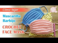 Crochet Mask, Crochet Faces, Love Crochet, Knit Crochet, Easy Face Masks, Diy Face Mask, Sewing Patterns, Crochet Patterns, Diy Mask