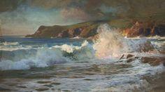 marine oil paintings: Frederick Judd Waugh - USA